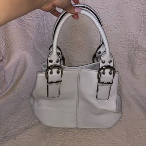 Tignanello White Purse